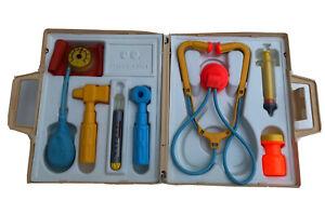 VINTAGE RETRO FISHER PRICE Doctors Medical Kit Toy 1977