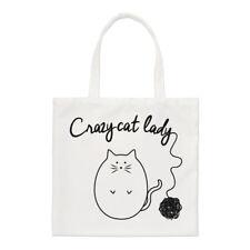 Gomitolo di in maglia Crazy Cat Lady Borsa piccola - DIVERTENTE spalla