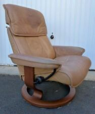 Ekornes Leather Armchairs