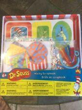 Dr Seuss Wacky Scrapbook Kit Supplies Photo Album Cat In The Hat ~ New in Box