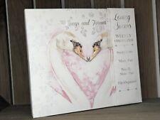 My Wedding Planner Book Journal Diary Organiser Swan Design Engagement gift New