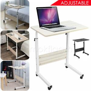 Adjustable Notebook Computer Desk Adjustable Laptop Table Trolley Sofa Bed Tray