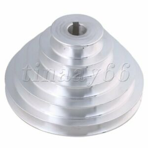 Hole Dia 19m Five Step Belt Pulley V-Type 5 Step Pulley for Motor shaft drive