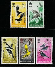 INDONESIA 1964 Mini Stamps - Indonesian Tropical Birds