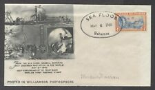 Bahamas Seabed Post Office cacheted cover May 6 1940 cancel with letter