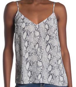 FRAME Silk Snake Print Camisole XS NWT $195