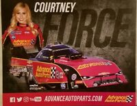 2018 NHRA FC Traxxas Handout Hero Photo Picture Courtney Force Free Shipping