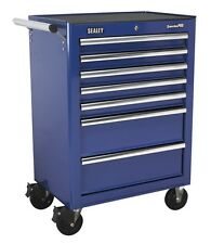 Sealey Rollcab 7 Drawer with Ball Bearing Runners - Blue AP26479TC