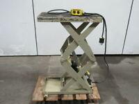"""Southworth LS05-30 500LB Cap. Hydraulic Scissor Lift Table 12x24"""" 6""""-36"""" Height"""