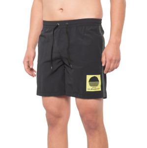Quiksilver Swim Trunk Mens Medium Beta Test Volley Nylon Trunks 17'' Shorts New