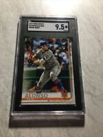Pete Alonso New York Mets RC 2019 Topps Update Rookie Debut #US198 SGC 9.5 Mint+