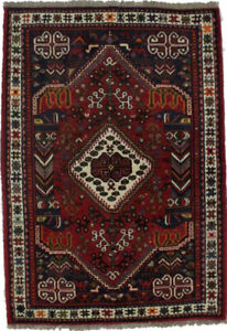 Hand Knotted Tribal Pictorial Design 3ʹ5X5ʹ Area Rug Oriental Farmhouse Carpet