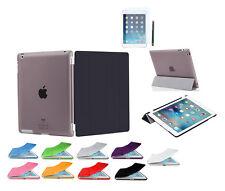 iPad 4 iPad 3 iPad 2 Smart Cover Case + Back Schutz Hülle Zubehör Tasche Folie