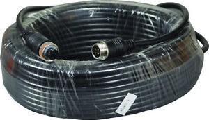 4 Pin aviation Cable 4 core - 20 metre long (UK Supplier)