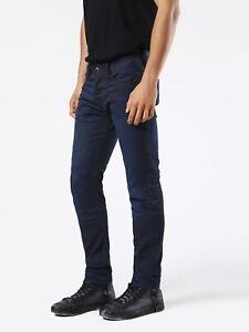 €250 DIESEL Tepphar 0857V_Stretch Slim-Carrot Fit Men's Jeans W34 L34 NEW