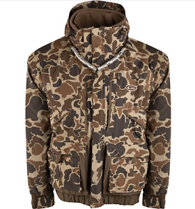 Drake Waterfowl LST EqWader 3 - 1 Plus 2 Wader Coat Old School Size 2X
