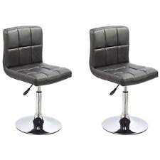 chaises de salle à manger cuisine Ensemble deux - Bari - Noir