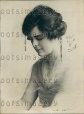 1922 Lovely Ursula Mary Bathurst Daughter of Lord Charles Press Photo