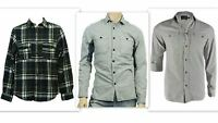 Mens Casual Shirt ex T0PMAN Pure Cotton Tailored Fit Long Sleeve