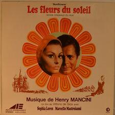 """OST - SOUNDTRACK - LES FLEURS DU SOLEIL - HENRY MANCINI 12"""" LP (L921)"""