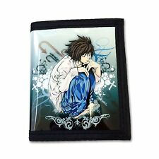 Death Note PU Leather Wallet / L (DEN-B1A)