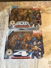 Lot of 2 Marvel Universe Guardians of the Galaxy and Fantastic 4 Starlord Thing