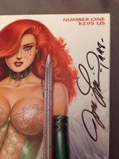 Sirius Dawn #1 Comic Book Signed by Joe Linsner Dated 1998 & Adrenaline #1 SET 2