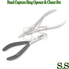 Bead Capture Ring Opener & Closer Set - Ball Closure Body Piercing Tool