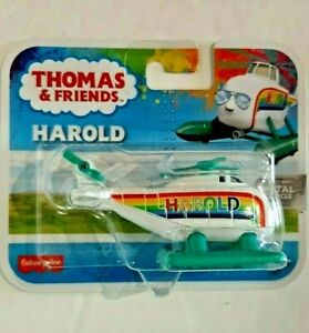 2020-Thomas & Friends-Harold-Harald-Rainbow Metal Vehicle-Boys & Girls-3-7