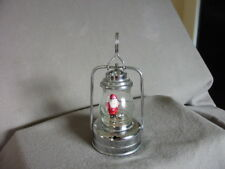 VINTAGE CHRISTMAS SANTA BATTERY-OPERATED SIGNAL LANTERN - MADE IN JAPAN