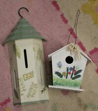 New ListingButterfly House and Bird House