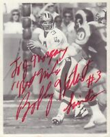 Bobby Hebert Saints Autographed Signed 8 x 10 Photo w/COA jhb