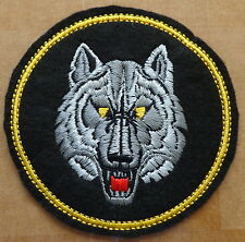 Russian  SPETSNAZ   WOLF embroidered     patch  #353 SE