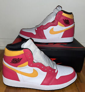Nike Air Jordan 1 Retro High OG Light Fusion Red Size 12 555088-603 Brand New