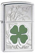 Zippo 24699 four leaf clover luck Lighter