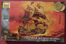 ZVEZDA 6513 Plastic Model Kit 1/350 Black Pearl Captain Jack Sparrow Ship Disney