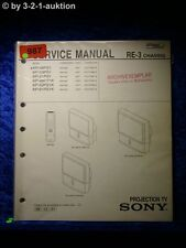 Sony Service Manual KP 48PS1 53PS1 61PS1 / K Projection TV (#0987)