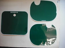 Number Backgrounds Plates Honda CR250 CR 250 1984 GREEN CR 125 500 Decals