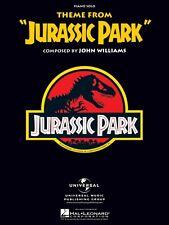 Jurassic Park Sheet Music Main Theme Piano Solo NEW  000120904