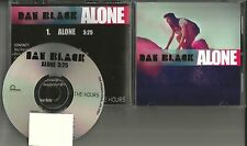 DAN BLACK Alone 2008 USA PROMO Radio DJ CD single MINT