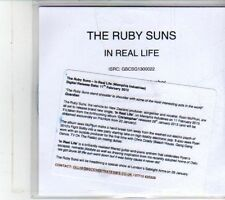 (DS110) The Ruby Suns, In Real Life - 2013 DJ CD