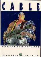 CABLE AND THE NEW MUTANTS SIMONSON LIEFELD TPB RARE 1ST PRINT