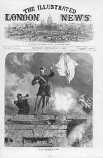 1870 FRANCO GERMAN WAR The Surrender of SEDAN France White Flag Soldier (119)