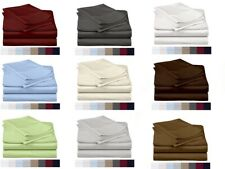 Egyptian Cotton 600 Thread-Count 4 Piece Sheet Set Beautiful Color ~ US Size.!*