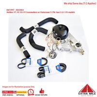Water Pump belts hoses for Commodore V8 (VT VU VX VY WH WK WL) 5.7 LS1 Gen3  (No