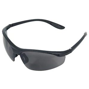 Radians Cheaters Bifocal Safety Glasses with Gray Lens