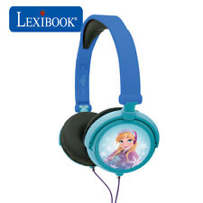 Lexibook Kids Frozen Foldable Stereo On Ear Headphones with Volume Limiter