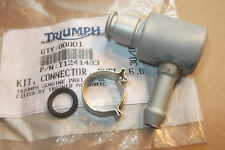 TRIUMPH DAYTONA  SPEED TRIPLE  GENUINE NOS FUEL PIPE CONNECTOR KIT - # T1241483