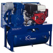 Quincy QT 13-HP 30-Gallon Two-Stage Truck Mount Air Compressor w/ Honda Engine