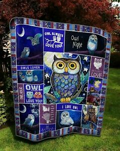 Owl – Owl Always Love You Quilt, Fleece Blanket